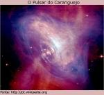 Combinação de informações ópticas do Hubble (em vermelho) e imagens de raios-X do Observatório de raios-X Chandra (em azul)
