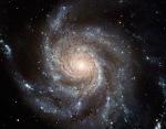galáxia Messier 101 feita pelo Telescópio Espacial Hubble