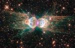 Nebulosa da Formiga, nuvem de poeira cósmica e gás- hubble