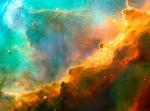 pequena região da Nebulosa do Cisne - Hubble